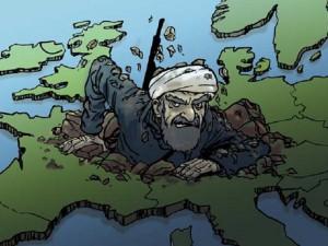 La reconquête islamique de l'Europe