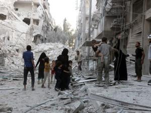 Syrie : Alep toujours à feu et à sang.
