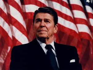 L'élection de Ronald Reagan.