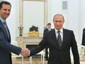 Poutine installe la paix en Syrie.