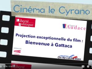 Bienvenue à Gattaca : projection exceptionnelle à Versailles le 16/10/18