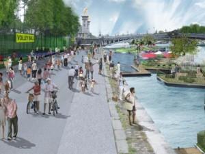 Paris : Hidalgo piétine un rapport opposé à la piétonisation de la rive droite.