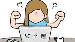 Les enfants et les réseaux sociaux.