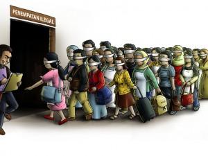 Fourras : la moitié des clandestins mineurs arrivés le 27 octobre sont déjà repartis.