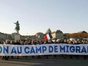 Manifestation du 11 novembre : non aux camps de migrants.