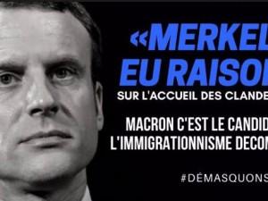 Invasion migratoire : Macron accélère la fin de la France