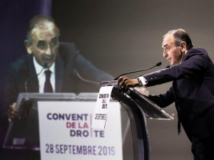Intervention d'Eric Zemmour à la Convention de la droite